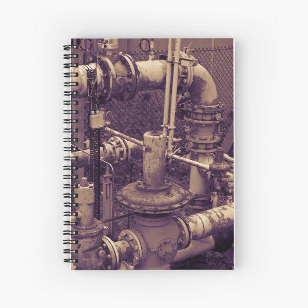Rusty Pipe Duo Tone Spiral Notebook