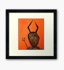 Diable - Devil Framed Print