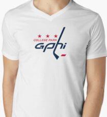 CAPS CP GPB Men's V-Neck T-Shirt