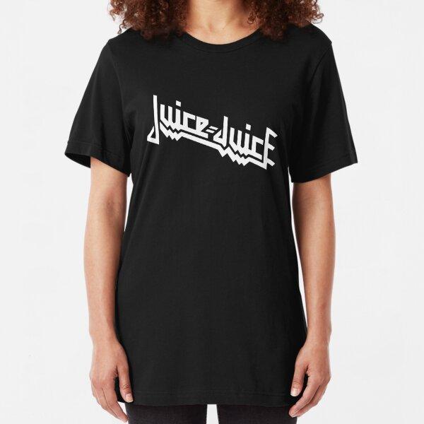 Juice=Juice - Judas Juice - White Slim Fit T-Shirt