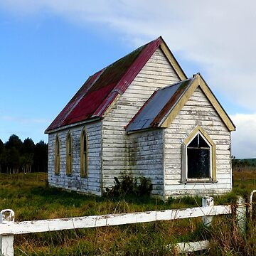 Old church building in a filed by franceslewis