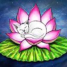 Lotus Cat by dahlymama