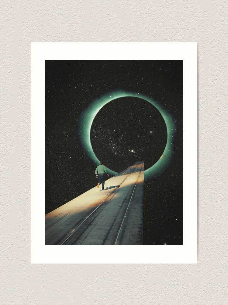 Alternate view of Escaping into the Void Art Print