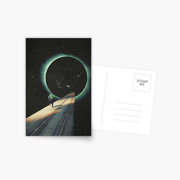 Escaping into the Void Postcard
