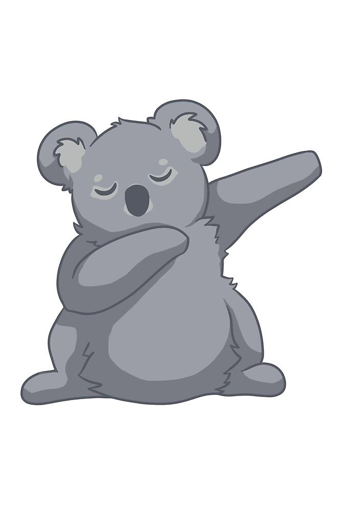 Quality Koala Tee by spacebirbz