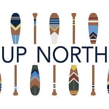 Hasta el norte con paletas pintadas de GreatLakesLocal