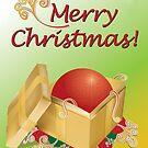 «Christmas Gift Box Card» de Shannon Kennedy