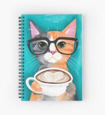 Kittens Latte der Liebe Spiralblock