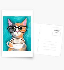 Kitten's Latte of Love Postcards