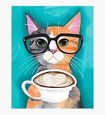 Kittens Latte der Liebe Fotodruck