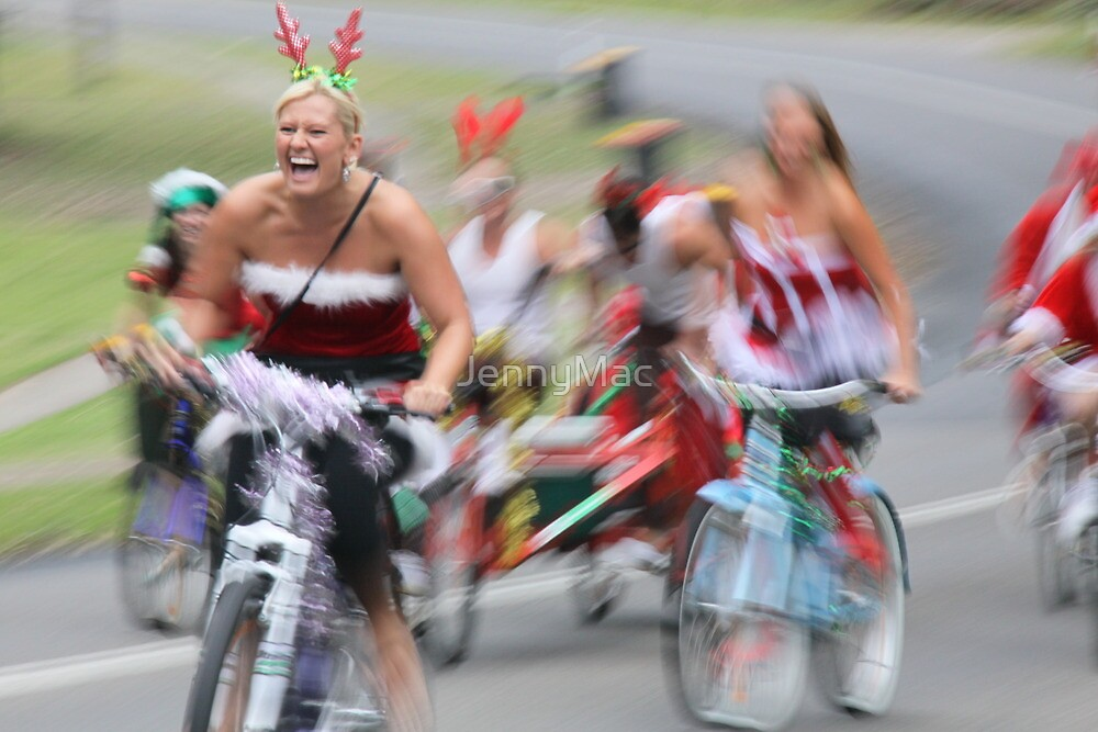 The Silly Season... Santa Ride 09 by JennyMac