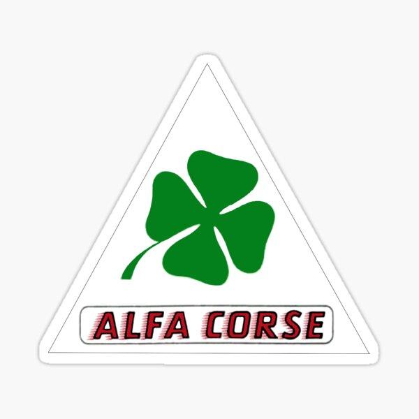 ALFA ROMEO CLOVERLEAF / ALFA CORSE Sticker