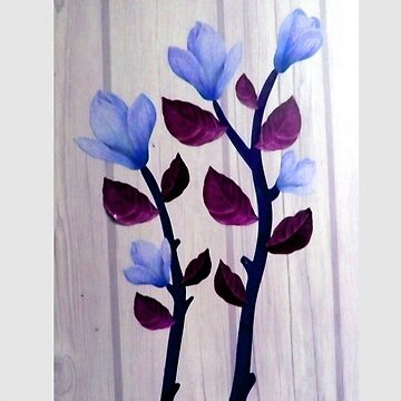 εїз✿♥Magnolia Stems on the Wood Grain Wallpaper iPhone & iPod Cases♥✿εїз von Fantabulous