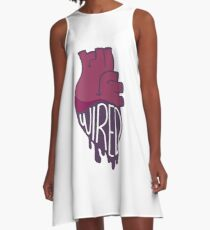 Wired Heart A-Line Dress