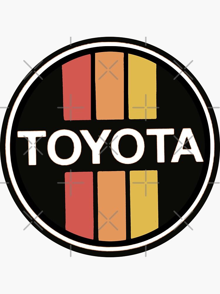 Classic Toyota Trucks Wall Decal by Reefmonkey