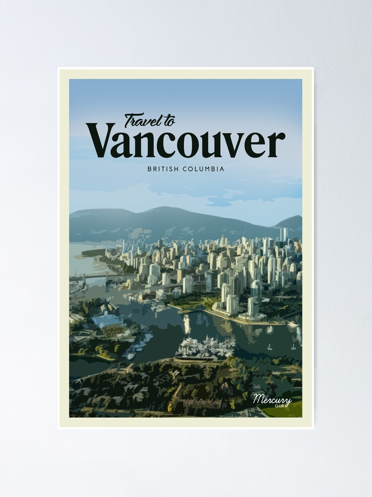 Alternate view of Vancouver Poster