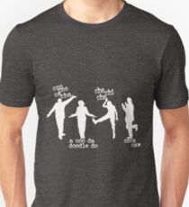 Camiseta ajustada Arrested Development Bluth Family Chicken Dance