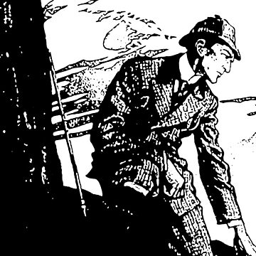 Sherlock Holmes at Reichenbach Falls in the Final Problem by InfernoFilm