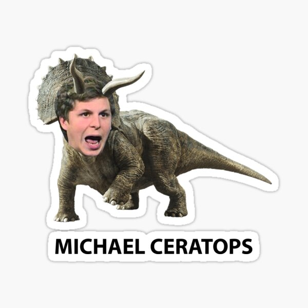 Michael Ceratops Sticker