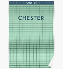 CHESTER Subway Station Poster