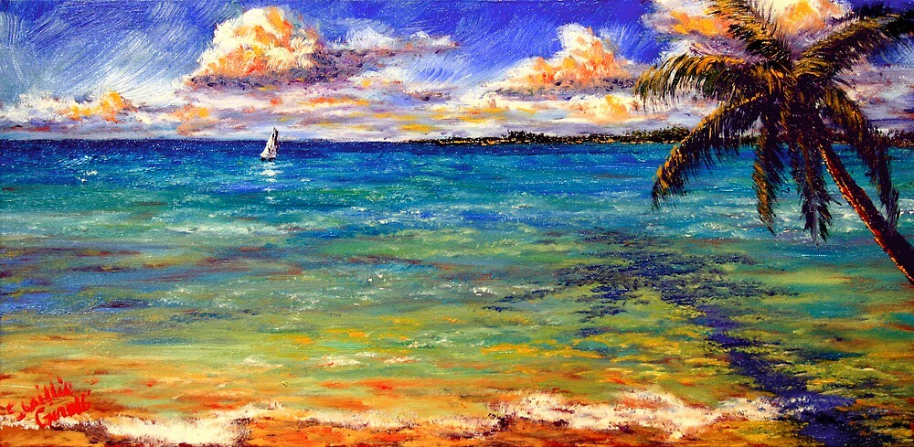 Serenity on the Caribbean by sesillie