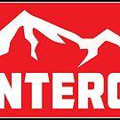 Ski Monterosa Italy Skiing Monte Rosa by MyHandmadeSigns