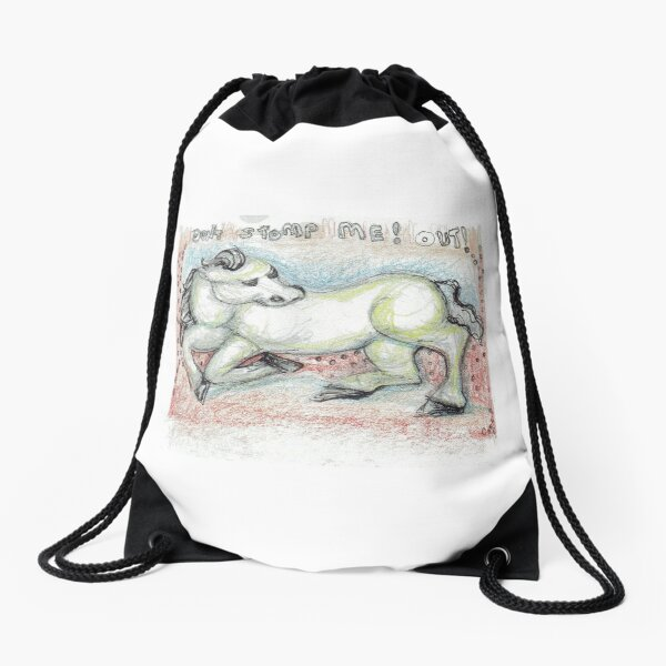 Stomp!  Drawstring Bag