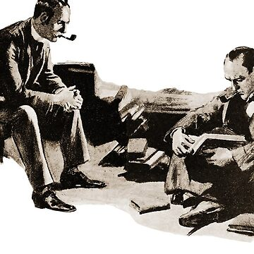Sherlock Holmes and Dr. John H. Watson in the Adventure of the Veiled Lodger by InfernoFilm