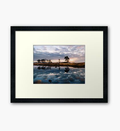 Sunrise On Rannoch Moor Framed Print