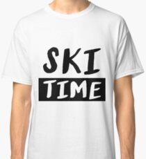 Ski ski instructor ski jumping skicross slalom gift Classic T-Shirt