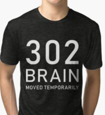 302 Funny Web Developer Administrator Gift Tri-blend T-Shirt