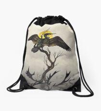 Golden Drawstring Bag