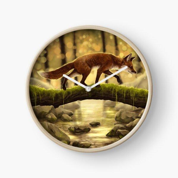 Fox Stroll Clock