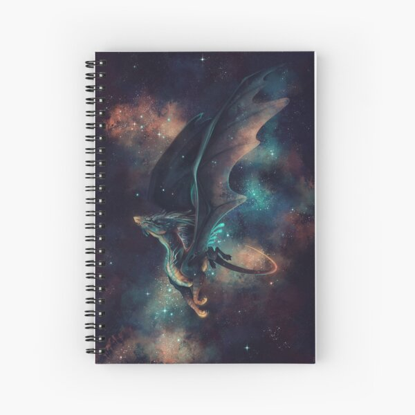 Cosmic Spiral Notebook