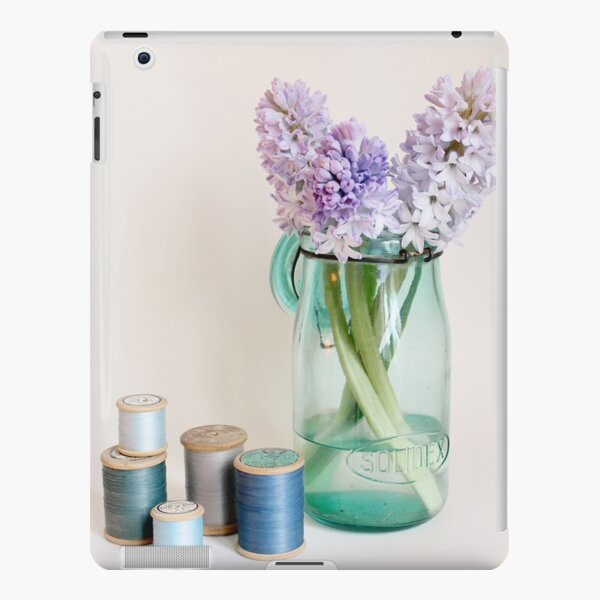 Hyacinths and cotton reels iPad Snap Case