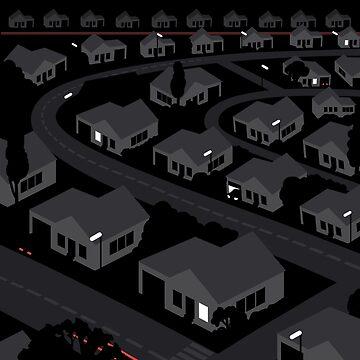 Sub-Urban Night by 7115