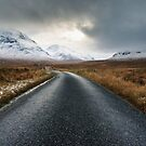The Road To Glen Etive by Mark Greenwood