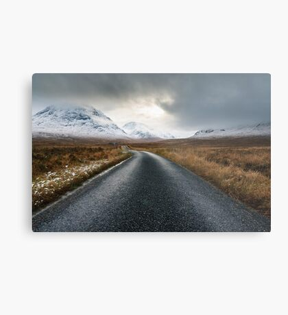 The Road To Glen Etive Metal Print