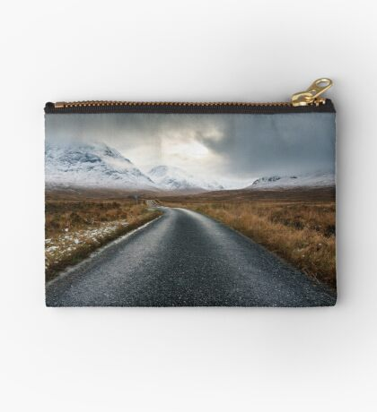 The Road To Glen Etive Zipper Pouch
