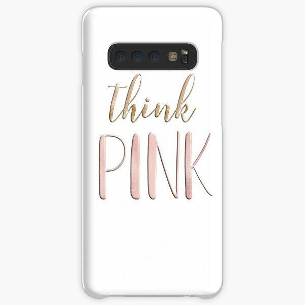 Think pink Samsung Galaxy Snap Case
