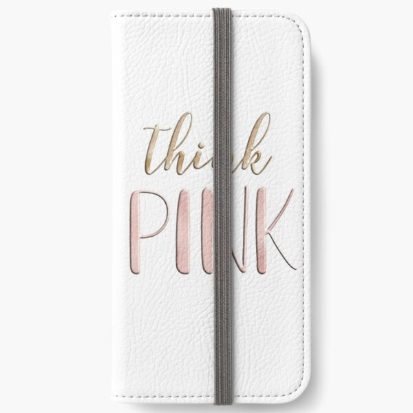 Think pink iPhone Wallet