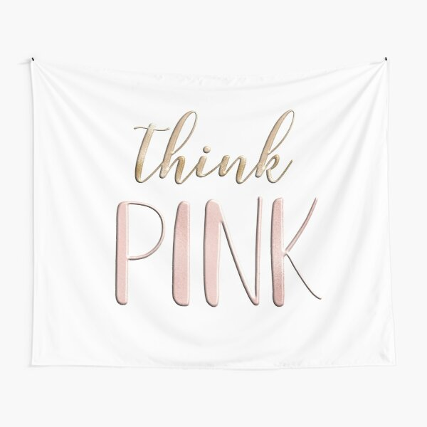 Think pink Tapestry