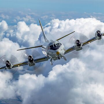 German Navy, Lockheed P-3 Orion, a four-engine turboprop anti-submarine and maritime surveillance aircraft  by PhotoStock-Isra