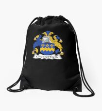 Chesterfield Coat of Arms - Family Crest Shirt Drawstring Bag