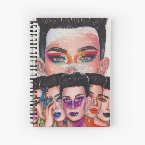 James Charles: Unleash Your Inner Artist Series Spiral Notebook