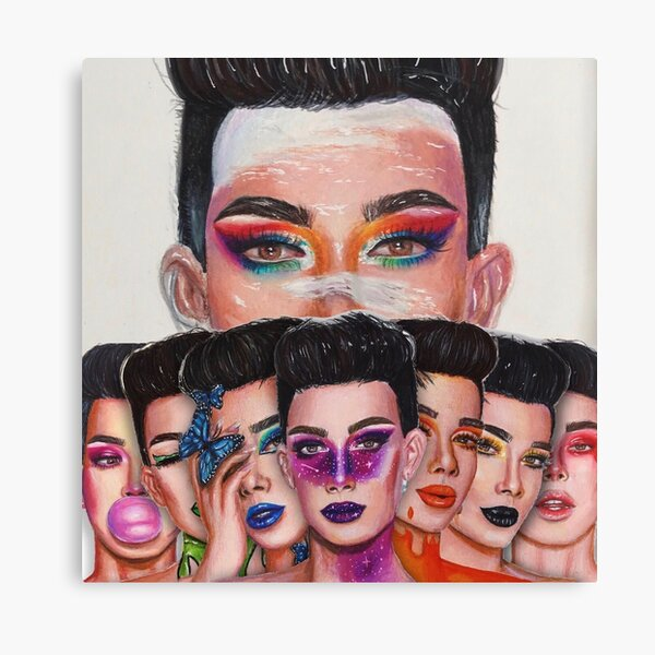 James Charles: Unleash Your Inner Artist Series Canvas Print