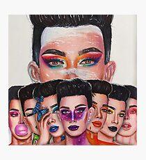 James Charles: Entfessle deine Inner Artist Series Fotodruck