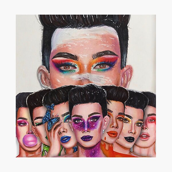 James Charles: Unleash Your Inner Artist Series Photographic Print