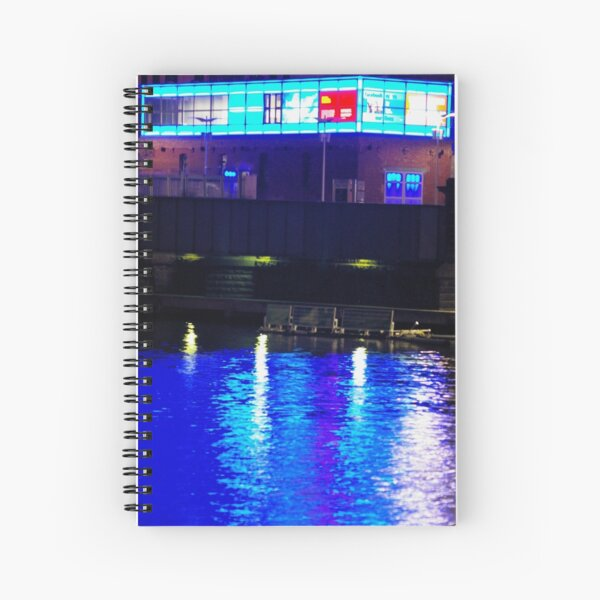 Mr Strauss, Is This More Blue Than The Danube? Spiral Notebook