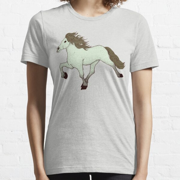 Blue Dun Tolting Horse Essential T-Shirt